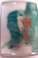 Portretten geschilderd in glas